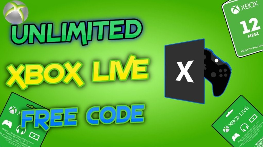 Xbox Live Gold Game Pass Free Codes No Survey – Get free xbox game